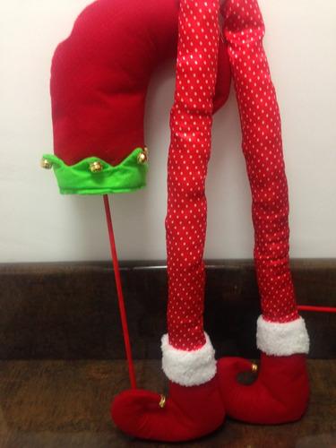 arbol navidad piernas duende  juego increible por $490.00