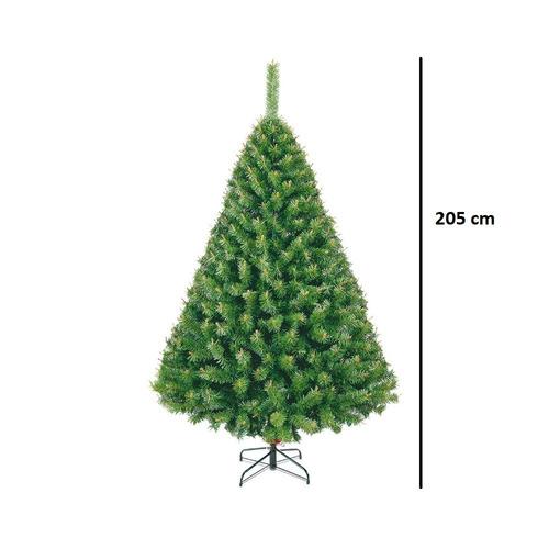 arbol navidad pino naviplastic alberta artificial 205cm