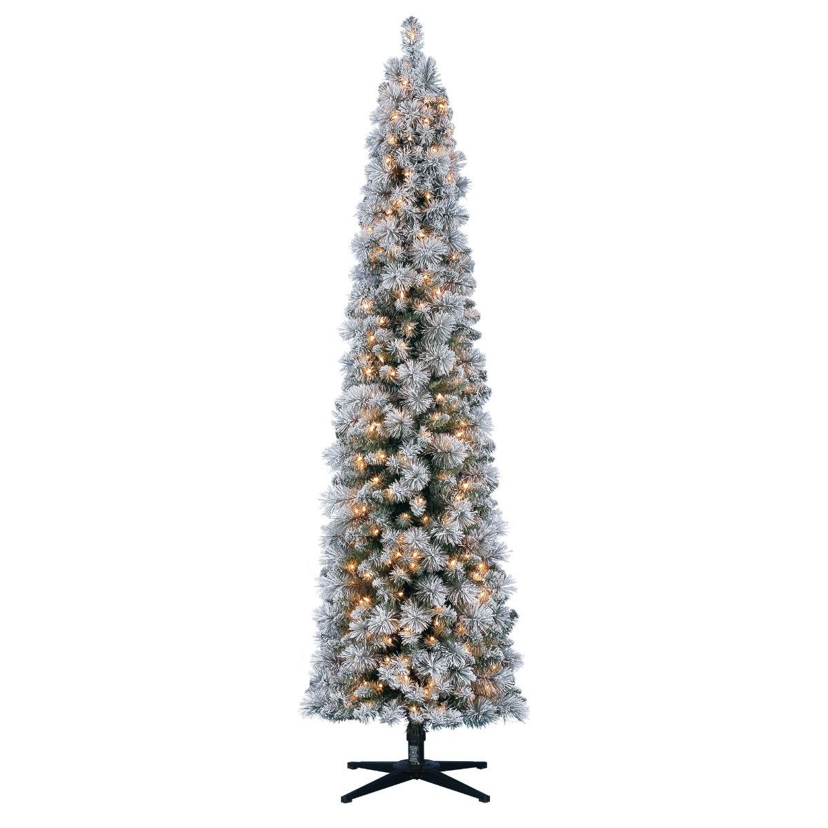 Arbol Navidad Preiluminado Luces Transparentes 2.13m - $ 3,199.00 en ...