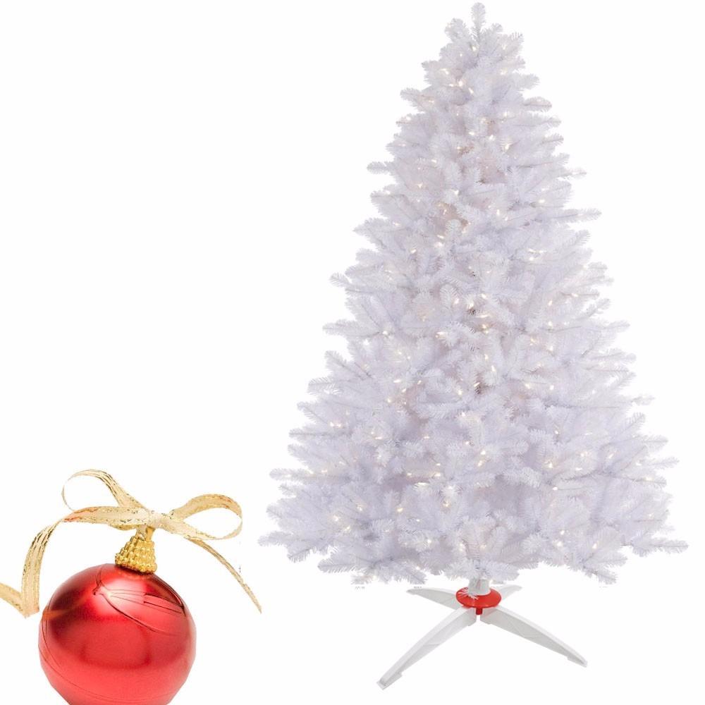 Arbol navidad blanco rbol de navidad cc pie blanco - Arbol de navidad en blanco ...