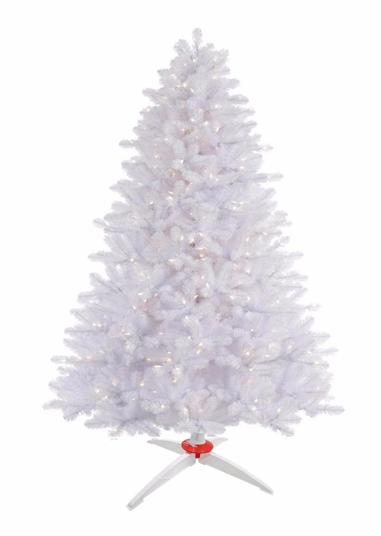 arbol o pino de navidad blanco metros