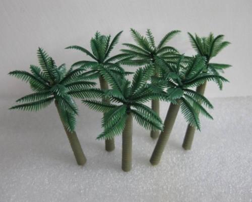 arbol palmera para maqueta 35 mm escala 1:50 - 1:87 - 1:100