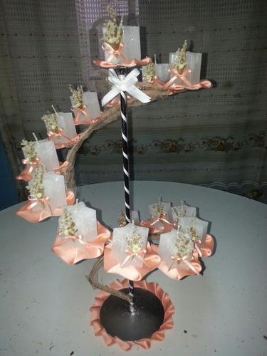 arbol para ceremonia de velas 15 años completo..