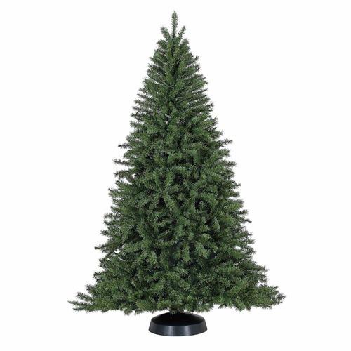 arbol pino navidad 2.13m alto 1.39m ancho apariencia natural