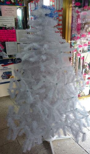 arbol pino navidad artificial bonanza frondoso 1.30mt blanco