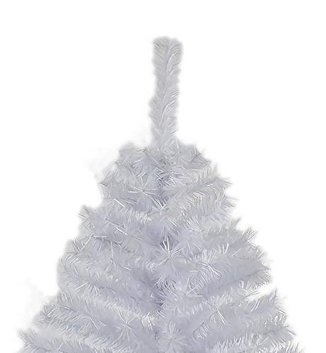 arbol pino navidad blanco pachon frondoso artificial 1.90m
