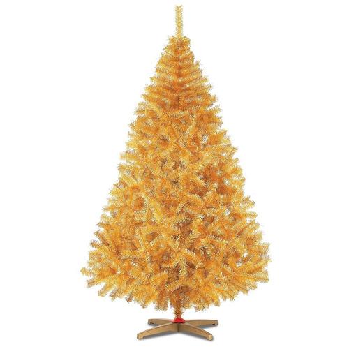 arbol pino navidad dorado artificial 1.90m naviplastic oro