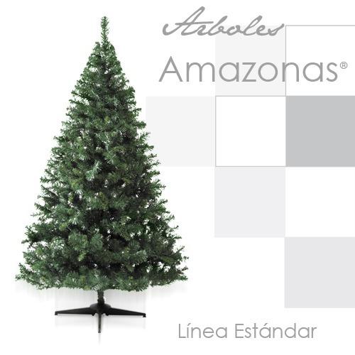arbol pino navidad navideño artificial amazonas verde 1.30 m