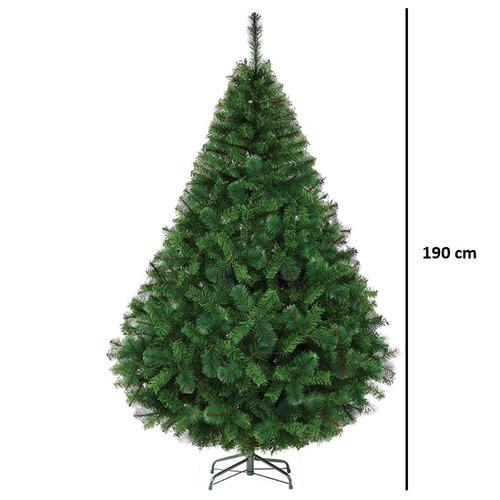 arbol pino navidad voluminoso 1.9m naviplastic california