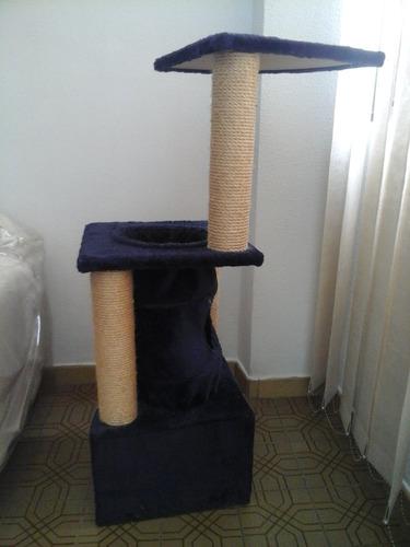 arbol/ rascador/ casa para gatos