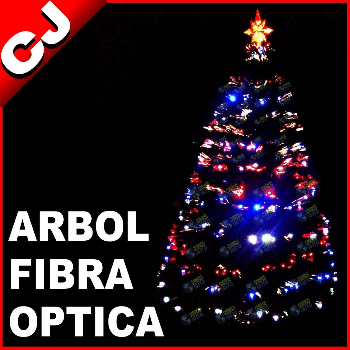 Arbol verde 180 fibra optica y luces led integradas navidad 1 en mercado libre - Luces arbol de navidad ...