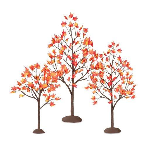 árboles artificiales,departamento 56 aldea del otoño de ..