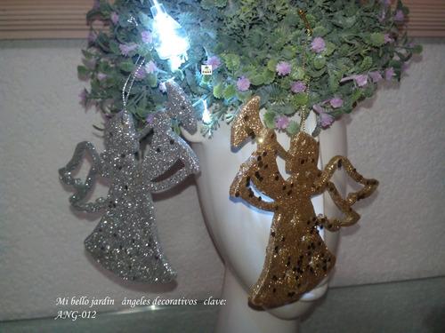 arboles de navidad angeles decorativos