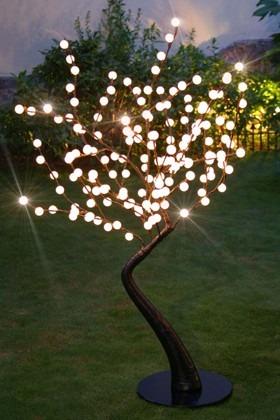 arboles grandes con luz para exteriores e interiores envo