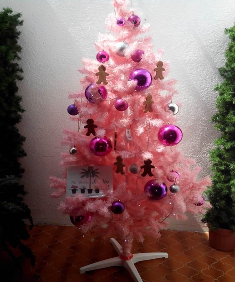 Arboles navide os decorados en mercado libre - Arboles decorados ...
