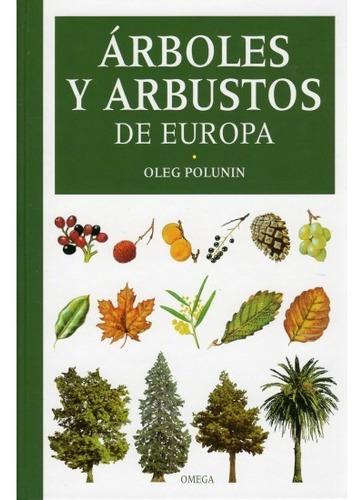 árboles y arbustos de europa(libro botánica)