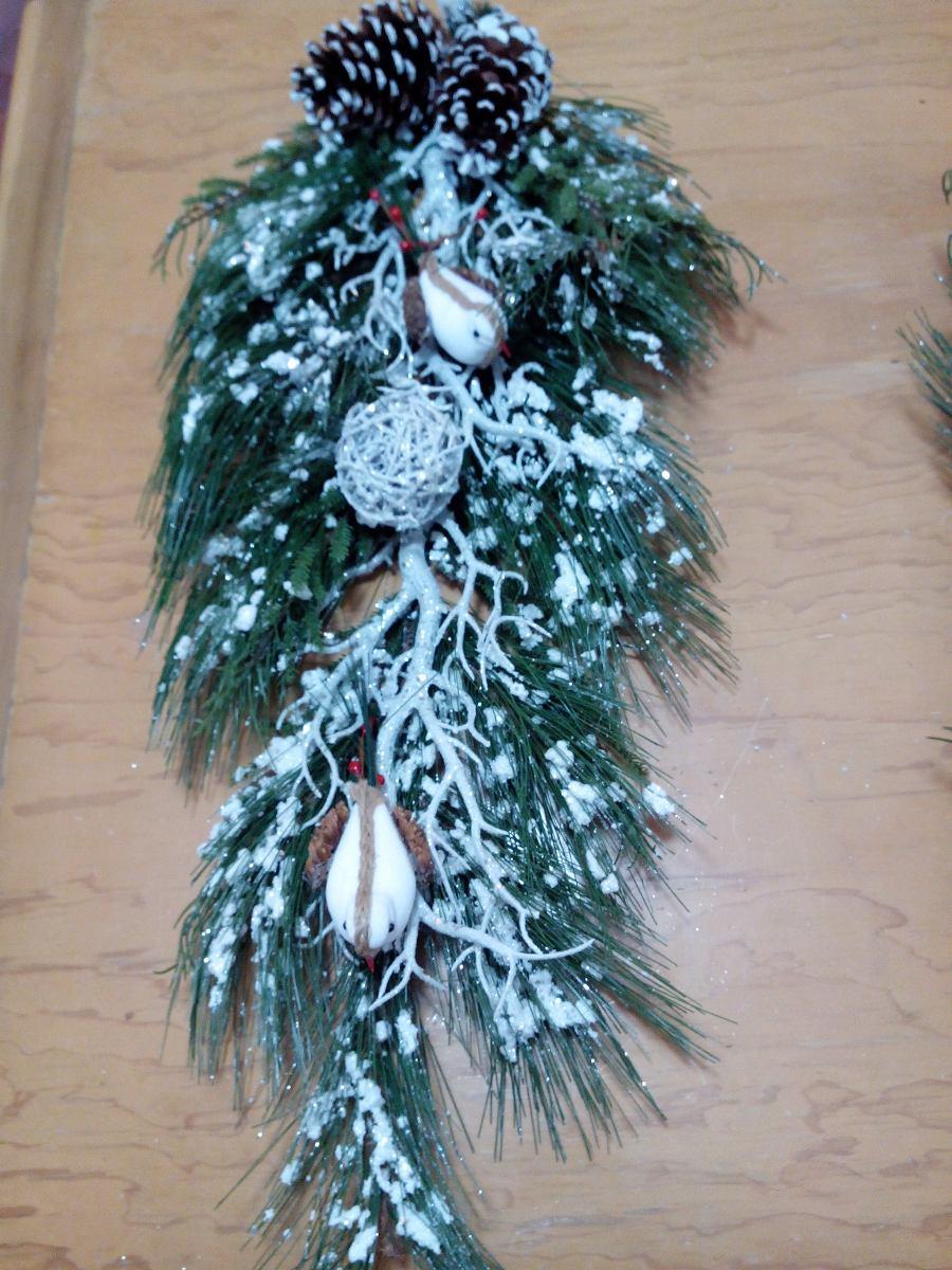 arbolesde navidad corona navidea de lujo cargando zoom