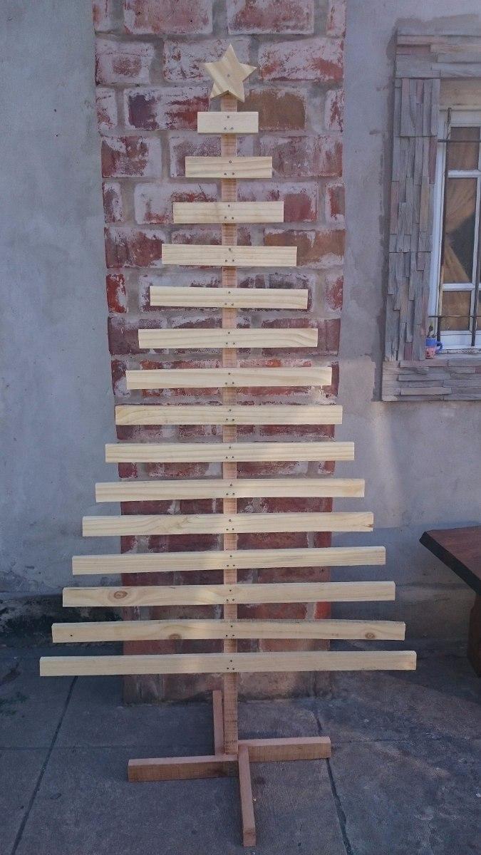 914156f53d8 Arbolito De Navidad De Madera Vintage