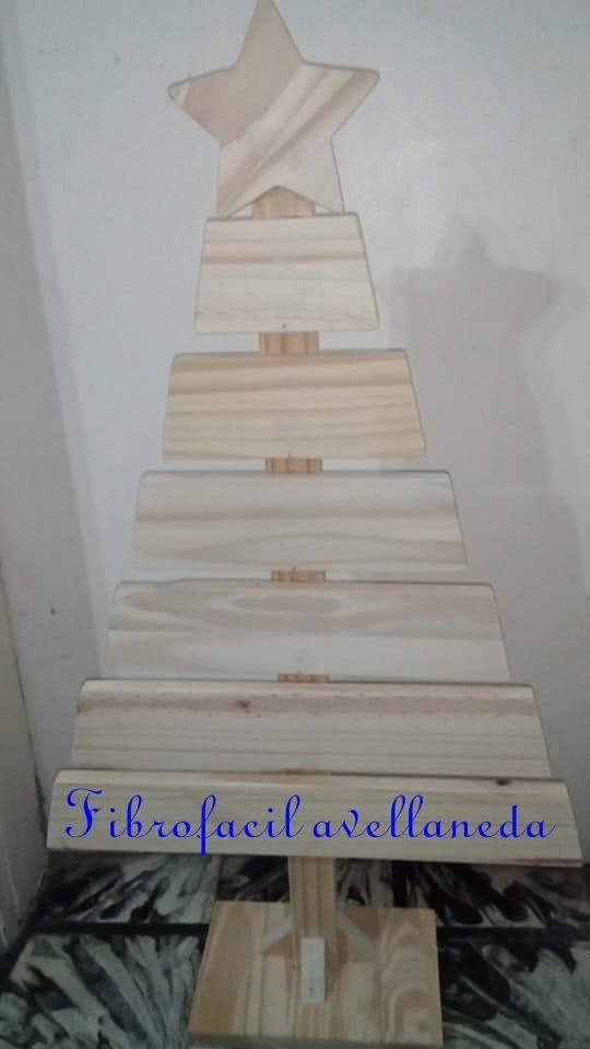 5da67fd58bf arbolito navideño en madera p pintar decorar vintage navidad. Cargando zoom.