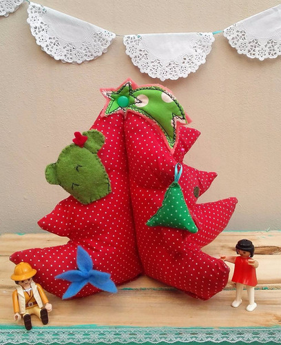 arbolitos de navidad artesanales decoracion fiestas