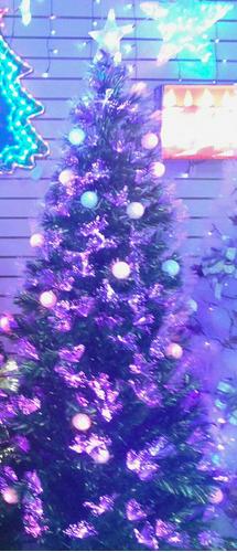 arbolitos de navidad de fibra optica