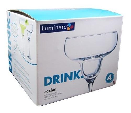arc international luminarc cachet margarita glass, 14.5