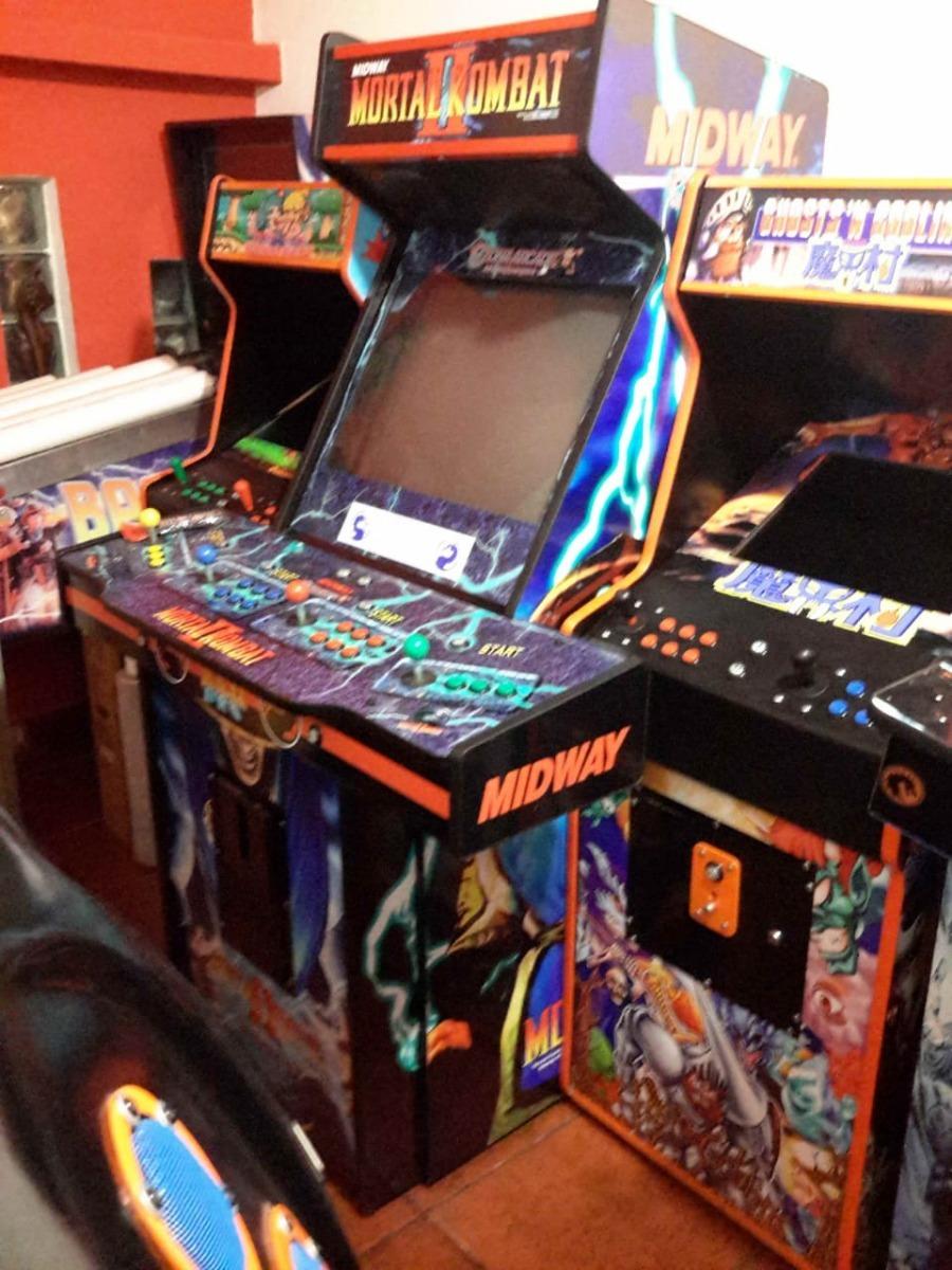 Arcade 4 Players Multijuegos 16000 Juegos Monitor 25 Fichin - $ 49 999,00