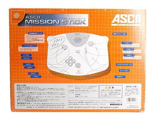 arcade ascii mission stick sega dreamcast