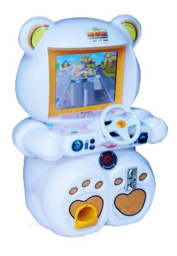 arcade candy bear series machines