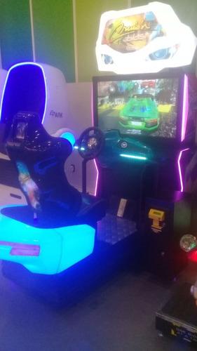 arcade cruisin blast racing car game machine