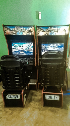 arcade doble manejo cruising cruis'n world (posadas 2)