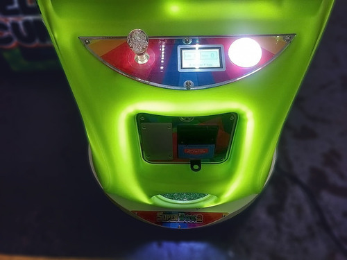arcade grúa super box crane game machina con billetero