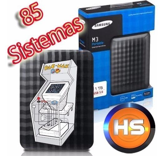 Arcade Mame Full Set + Hyperspin + 85 Sistemas + Hd 1 Tera