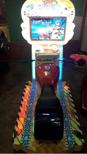 arcade moto swing car