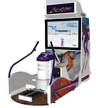 arcade nanco alpine racer redemption (corrientes)