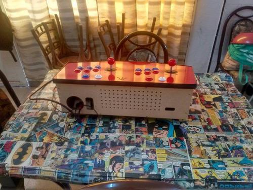 arcade retro con juegos