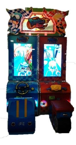 arcade rocket car