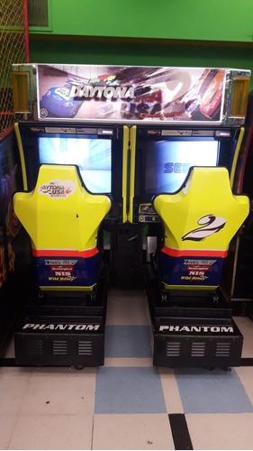 arcade sega daytona usa 2 de doble manejo (rosario g)