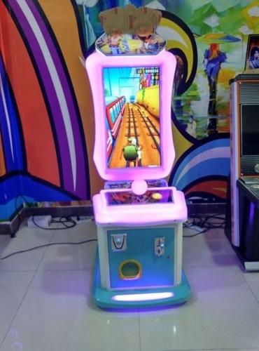 arcade subway parkour