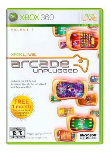 arcade unplugged: volume 1 - xbox 360