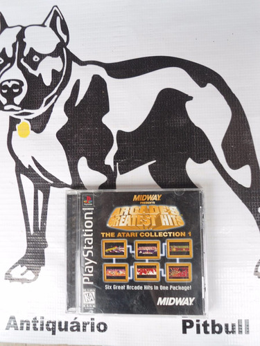 arcade's greatest hits / the atari collection playstation 1