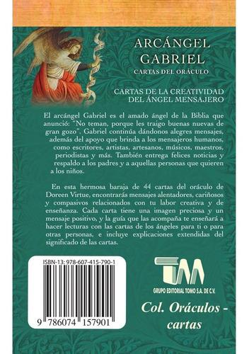 arcángel gabriel, cartas del oráculo, doreen virtue