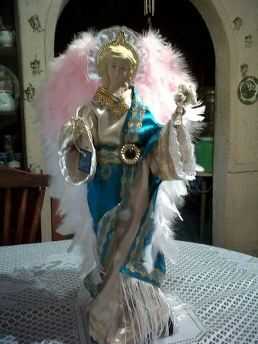 arcángeles y ángeles de cerámica
