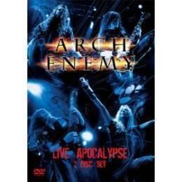 arch enemy live apocalypse dvd x 2 nuevo