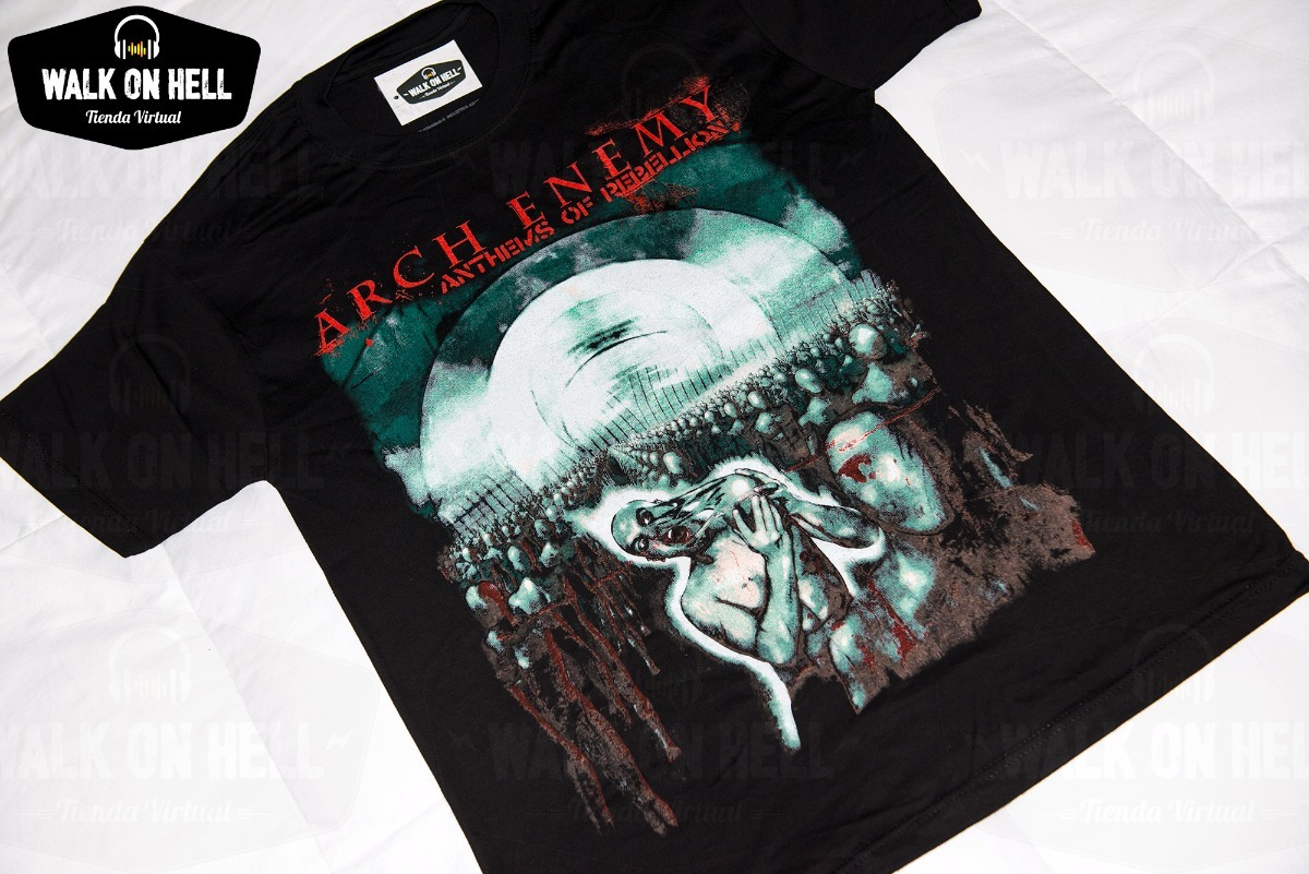 Arch Enemy - Remera Alta Calidad - Anthems Of Rebellion -   380 aa3a843e94d20
