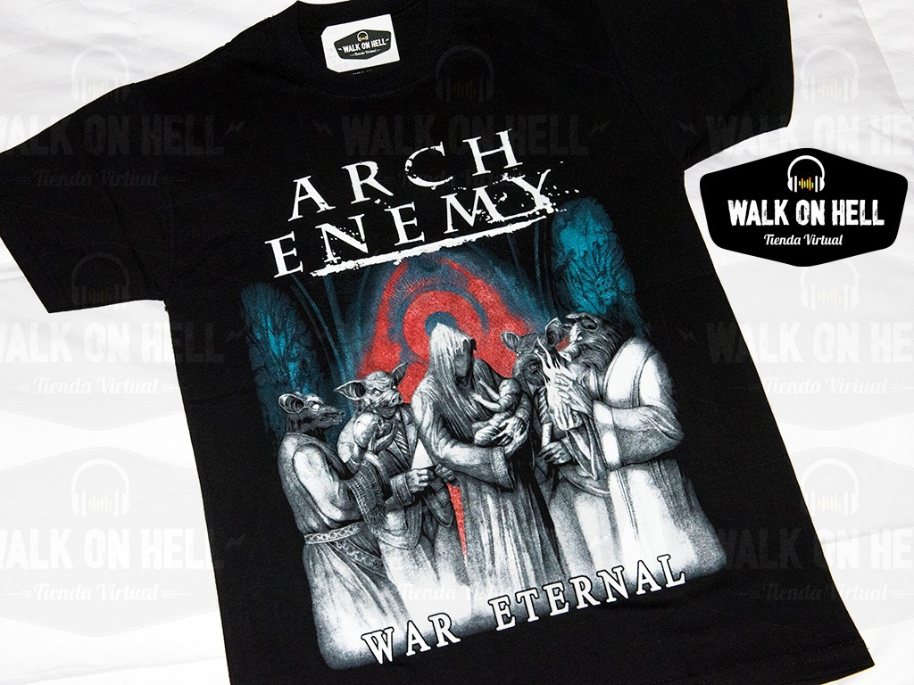 arch enemy - remera alta calidad - war eternal. Cargando zoom. 5cd849f55f8c6