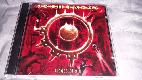 arch enemy - wages of sin (carcass) (2 cds)