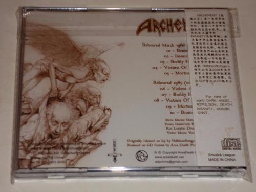 archenemy violent harm cd death thrash metal usa
