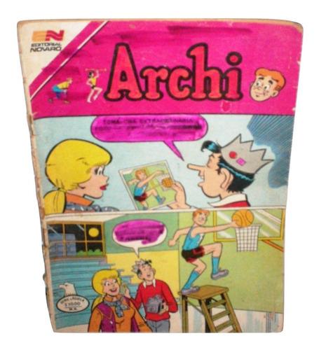 archi #2 historieta 1982 comic viejo pasta rota archi aguila