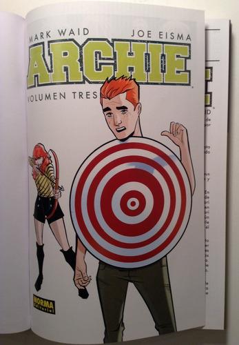 archie vol. 3 archiecomics